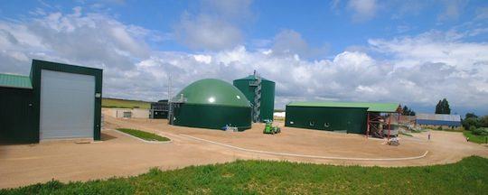 L'installation de Marnay Energie à Feux dans le Cher, photo Evergaz