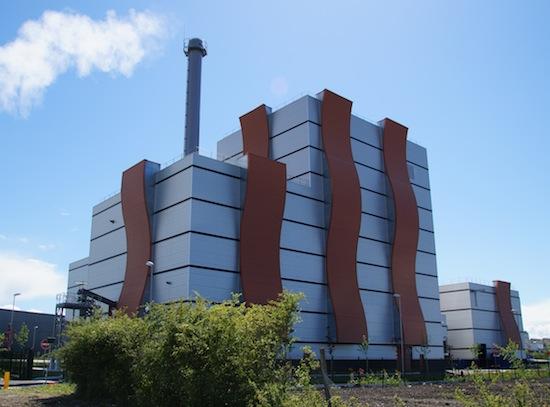 La centrale biomasse d'Orléans Nord