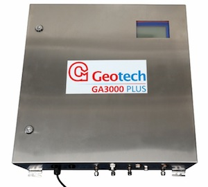 Le boitier de l'analyseur GA 3000 Plus, photo Geotech