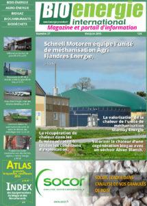 Couv magazine Bioénergie international R37 mai-juin 2015