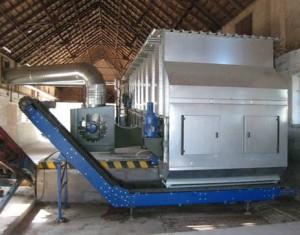 Séchoir de luzerne Alvan Blanch de 9 tonnes par heure