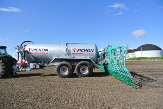 Pichon : l'organisation et la logistique au cœur de vos chantiers d'épandage
