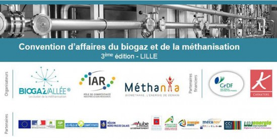 Convention biogaz Lille