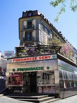Immeuble de Stéphane Rousset à Lausanne