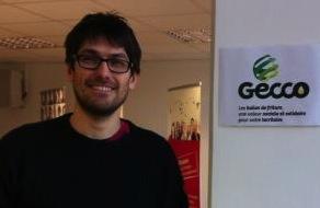 Julien Pilette, jeune entrepreneur originaire d'Artres, co-fondateur et gérant de Gecco
