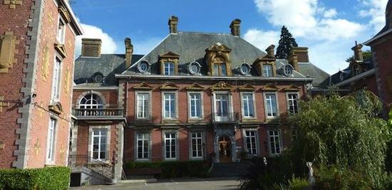 L'hôtel de Tihange chauffé aux anas de lin, photo ValBiom