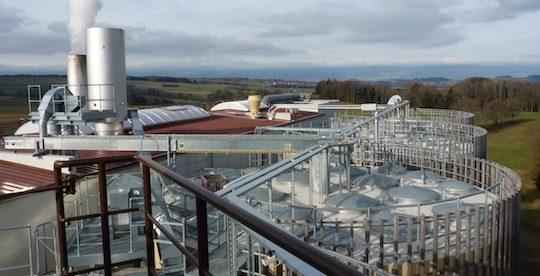 Projet d'unité de cogénération & granulation au bois à Decize sur le modèle de Enerbois en Suisse, photo Frédéric Douard