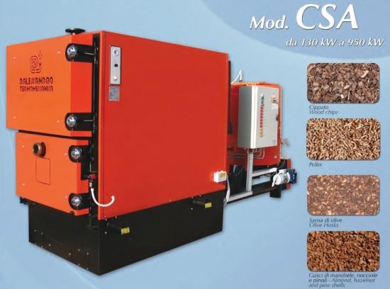 D'Alessandro Termomeccanica CSA 130-950 kW