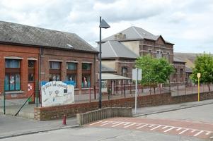 L'école de Roselies fait partie des bâtiments chauffés par la cogénération biogaz