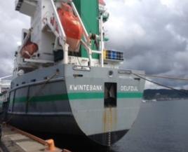 Loading into ship 2