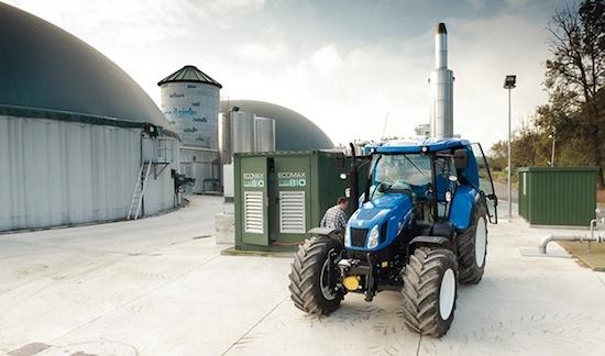 NewHolland T6 à la ferme de La Bellota