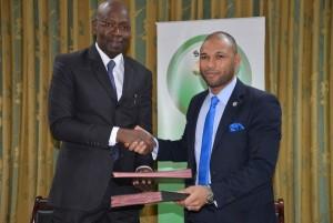 Signature Saber et Uniafrica