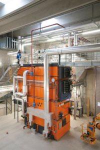 La chaudière Schmid de 2 MW de Speicher & Trogen