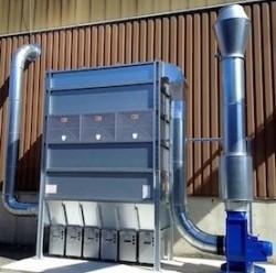 Système d'aspiration et filtration de poussière Höcker Polytechnik