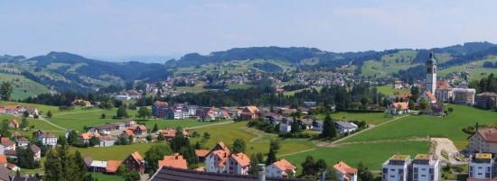 Village de l'Appenzell, photo Energie Bois Suisse