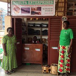 Briquettes Ouganda