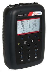 L'analyseur portable BIOGAS-5000 de Geotech