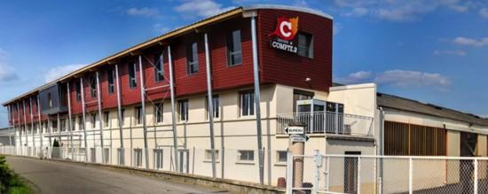 Le siège de Compte R à Arlanc