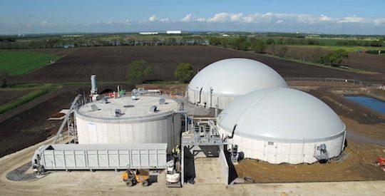 Vulcan, l'unité de méthanisation consruite par Future Energy près de Doncaster