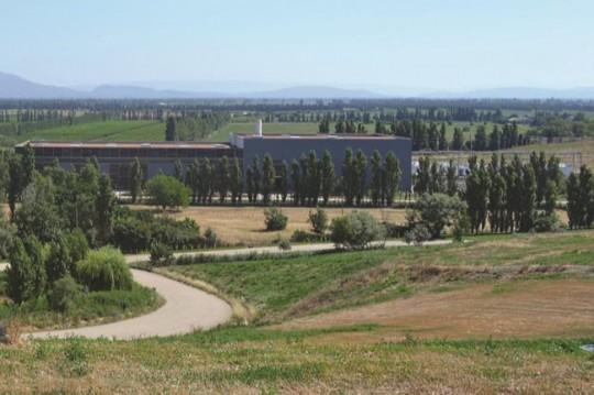 Le site de la centrale de valorisation à la décharge de La Crau, photo MPM