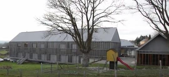 Ecole et cantine de Pervenchères, photo FD Cuma de Basse-Normandie