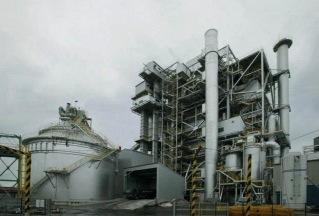 La centrale à lit fluidisé circulant d'Itoigawa est en service depuis fin 2004.