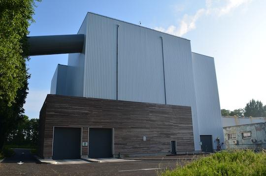 La centrale biomasse de Lens, photo Frédéric Douard