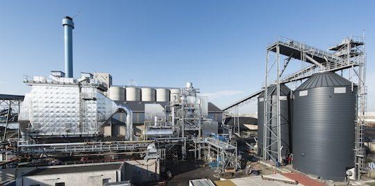 La chaufferie biomasse de Saipol Sètes, photo Cédric Helsly