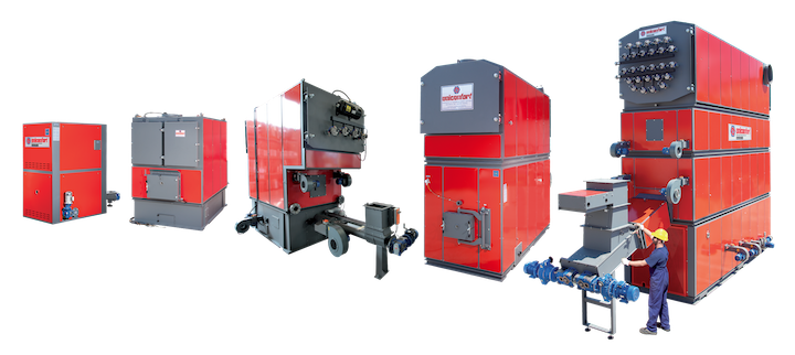 Uniconfort, des gammes de chaudières pour tous combustibles biomasse