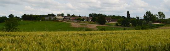 Le hameau de Clottes à Nojals et Clottes en Dordogne, photo Frédéric Douard