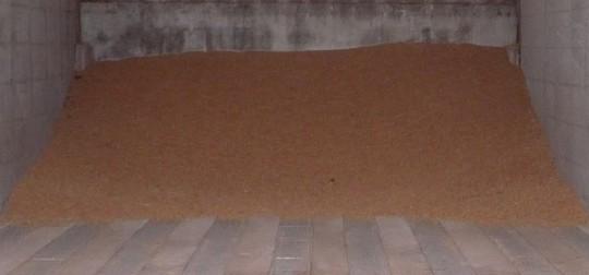L'une des 4 cellules de séchage à plat du GAEC du Boscor