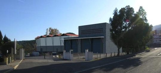 La chaufferie d'Arjowiggins à Amélie-les-Bains, photo B2 Ingénierie