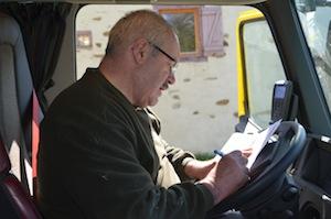 La facturation est effectuée à la livraison à partir du ticket de pesée, photo Frédéric Douard