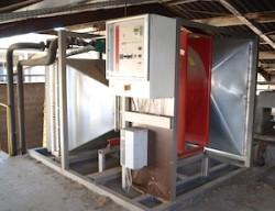 La première centrale de ventillation Lauber, photo Frédéric Douard