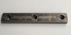 Le nouveau contre-couteau de la HM 14-860, photo Saelen Energie