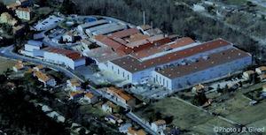 Le site d'Arjowiggins à Amélie-les-Bains, photo JL Girod