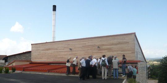 Visite de chaufferie bois organisée par les animateurs bois-énergie, photo CCI 48-30