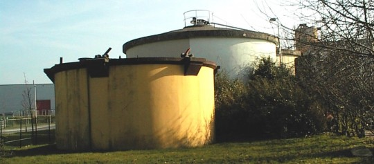 Digesteurs de la commune de Lagny sur Marne, photo SIAM 77