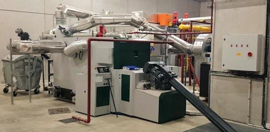 Chaudière Herz de 600 kW à Ramonville, photo SB Thermique