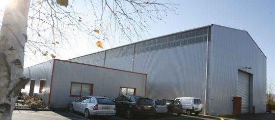 L'usine Atlantique Thermique à Cestas près de Bordeaux, photo AT