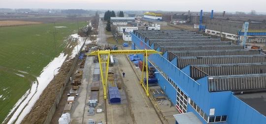 L'usine Compte Fortech en Pologne, photo Compte R