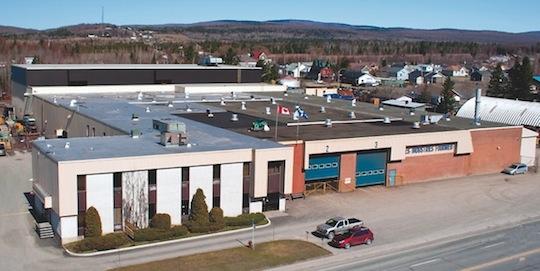 L'usine de Compte Fournier au Québec, photo Compte R