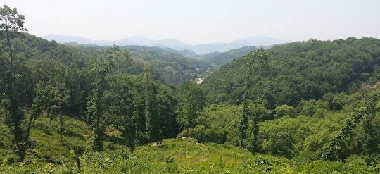 Le projet se situe dans la province de Gyeonggi-do