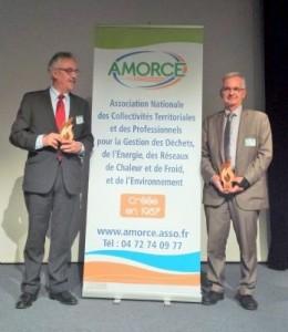 Remise de l'écolabel à la ville de Limoges par Amorce le 2 décembre 2015