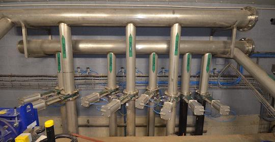 Circuit de chauffage du digestat fabriqué par AES Dana pour Métha Ternois, photo Frédéric Douard