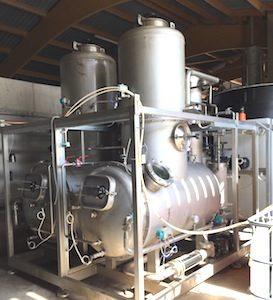 Evaporateur double effet installé en 2013