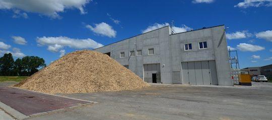 La centrale biomasse de Sospiro, photo Frédéric Douard