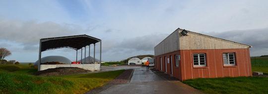 L'accès au site de Métha Ternois avec passage sur le pout-bascule, photo Frédéric Douard