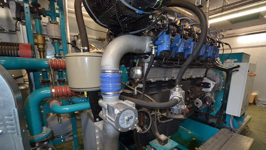 Le moteur Schnell à Thiembronne, photo Frédéric Douard