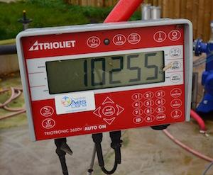 Le poids dans l'incorporateur comme toutes les autres données sont enregistrées et surveillées à distance, photo Frédéric Douard